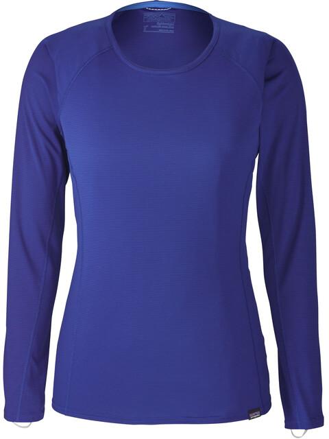 Patagonia Capilene Lightweight Bluzka z długim rękawem Kobiety niebieski
